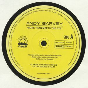 GARVEY, Andy - More Than Meets The Eye