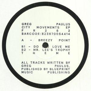 PAULUS, Greg - City Movements EP
