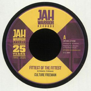 CULTURE FREEMAN/JAH WARRIOR - Fittest Of The Fittest