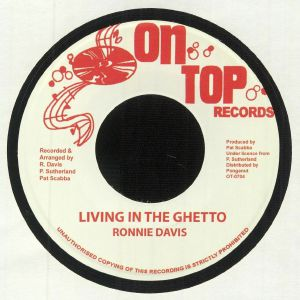 DAVIS, Ronnie - Living In The Ghetto
