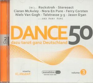 KLANGBAR/VARIOUS - Dance 50 Vol 3