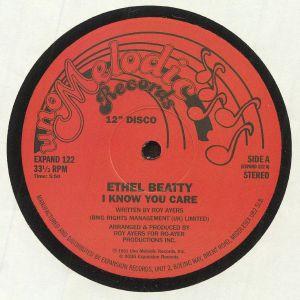 BEATTY, Ethel - I Know You Care (reissue)