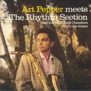 PEPPER, Art - Meets The Rhythm Section (reissue)