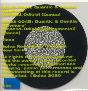 QUANTIC/DENITIA - Nowhere (mono)