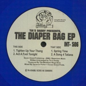 TIA'S DADDY aka TERRENCE PARKER - The Diaper Bag EP (reissue)