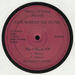 GOURMENT DE FUNK - The 4 Phunk EP