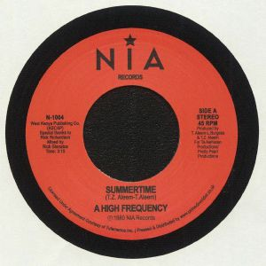 A HIGH FREQUENCY - Summertime (Record Store Day 2020)