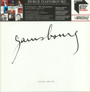 GAINSBOURG, Serge - Integrale Des Enregistrements Studio Volume 1: 1958-1970