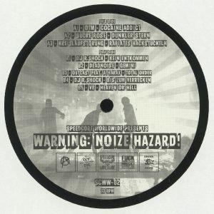 OTM/SUCRE ROSE/KREISLAUFSTORUNG/DJ R SHOCK/DEADNOISE/OUTCAST/ATHARAX/V8 - Warning: Noize Hazard