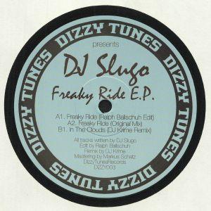 DJ SLUGO - Freaky Ride EP (reissue)