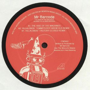 MR BARCODE - The Rise Of The Machines: Ricardo Villalobos Remixes