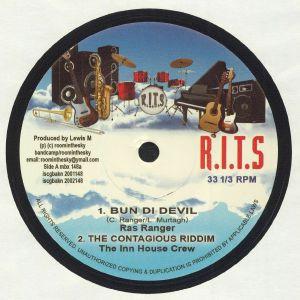 RAS RANGER/THE INN HOUSE CREW/AJ FRANKLIN/WINSTON REEDY - The Contagious Riddim
