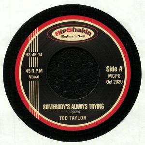 TAYLOR, Ted/MARJORIE BLACK - Somebody's Always Trying