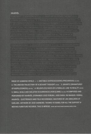 HAARVOL - Ridge Of Humming Spoils