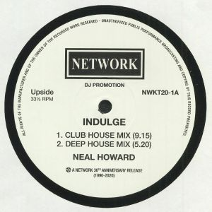 HOWARD, Neal - Indulge (reissue)