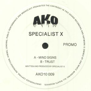 SPECIALIST X - Mind Signs