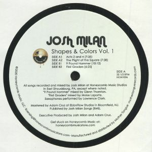 MILAN, Josh - Shapes & Colors Vol 1