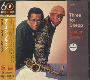 BROWN, Marion - Three For Shepp (reissue)