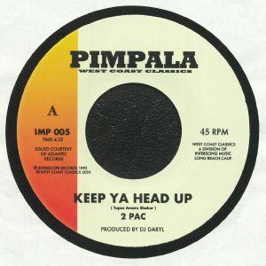 2 PAC/KING TEE - Keep Ya Head Up
