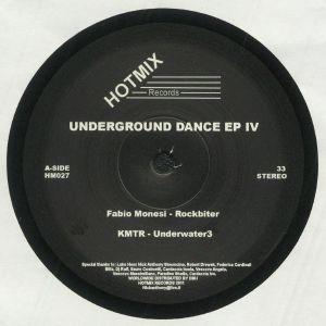 MONESI, Fabio/KMTR/NLXLP/RICARDO BAEZ - Underground Dance EP Vol IV