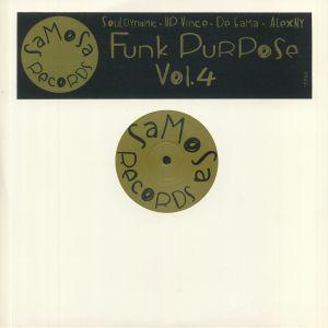 SOULDYNAMIC/DE GAMA/HP VINCE/ALEXNY - Funk Purpose Vol 4
