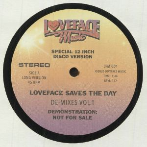 LOVEFACE - De Mixes: Vol 1