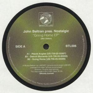 BELTRAN, John presents NOSTALGIC - Going Home EP (reissue)