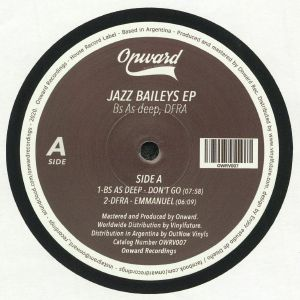 BS AS DEEP/DFRA - Jazz Baileys EP