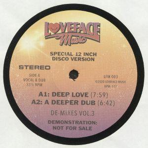 LOVEFACE - De Mixes: Vol 3