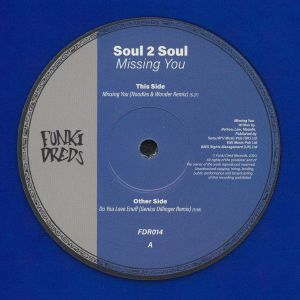 SOUL II SOUL - Missing You (Noodles & Wonder remix)