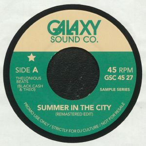 THELONIOUS BEATS aka BLACK CASH & THEO - Summer In The City (remastered)