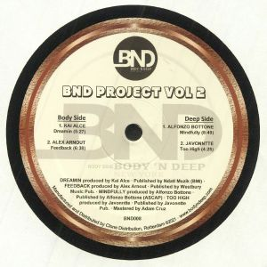ALCE, Kai/ALEX ARNOUT/ALFONZO BOTTONE/JAVONNTTE - BND Project Vol 2
