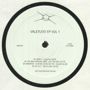 LAND 9/THE MECHANICAL MAN/MONITOR/IFS/DJ GLC - Valetudo EP Vol 1