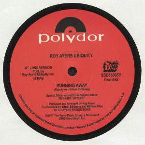ROY AYERS UBIQUITY - Running Away