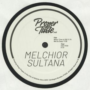 MELCHIOR SULTANA - When Time Is Still EP