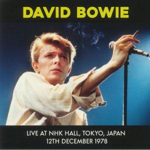 BOWIE, David - Live At NHK Hall Tokyo Japan 12th December 1978