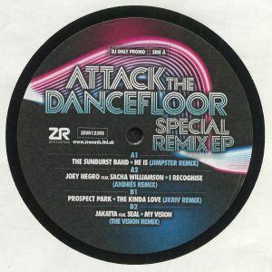 SUNBURST BAND, The/JOEY NEGRO/PROSPECT PARK/JAKATTA - Attack The Dancefloor: Special Remix EP
