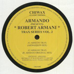ARMANDO presents ROBERT ARMANI - Armani Trax