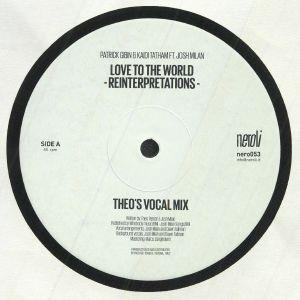 GIBIN, Patrick/KAIDI TATHAM feat JOSH MILAN - Love To The World: Theo Parrish Reinterpretations