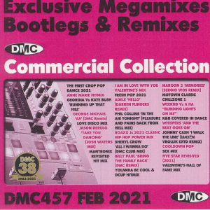 VARIOUS - DMC Commercial Collection February 2021: Exclusive Megamixes Bootlegs & Remixes (Strictly DJ Only)