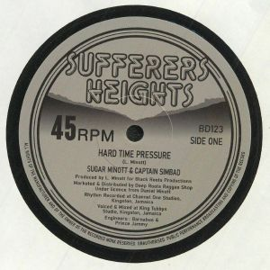 MINOTT, Sugar/CAPTAIN SIMBAD/BARNABUS/THE YOUTH PROMOTION BAND - Hard Time Pressure (reissue)