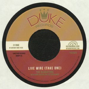 GLADIATORS, The/TOMMY McCOOK & THE SUPERSONICS/JUSTIN HINDS - Live Wire (Take One)