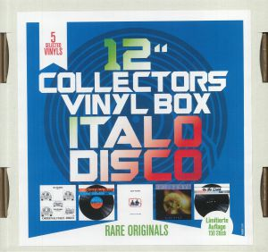 DOCTOR'S CAT/RALPH RIVER BAND/BODY POWER/CITY O/LIMIT ECCITATION - 12 Inch Collector's Vinyl Box: Italo Disco