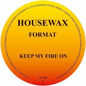 FORMAT aka ORLANDO VOORN - Keep My Fire EP