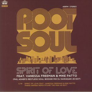 ROOT SOUL feat VANESSA FREEMAN/MIKE PATTO - Spirit Of Love