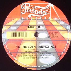 MUSIQUE - In The Bush (Francois K remix)