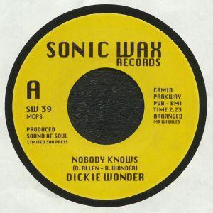 DICKIE WONDER - Nobody Knows (reissue)