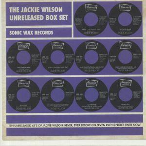 WILSON, Jackie - The Jackie Wilson Unreleased Box Set