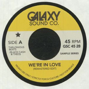 THELONIOUS BEATS aka BLACK CASH & THEO - We're In Love (remastered)