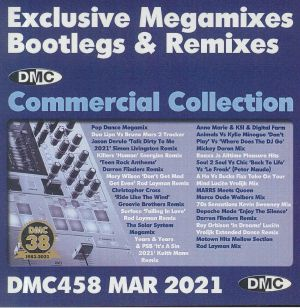 VARIOUS - DMC Commercial Collection March 2021: Exclusive Megamixes Bootlegs & Remixes (Strictly DJ Only)